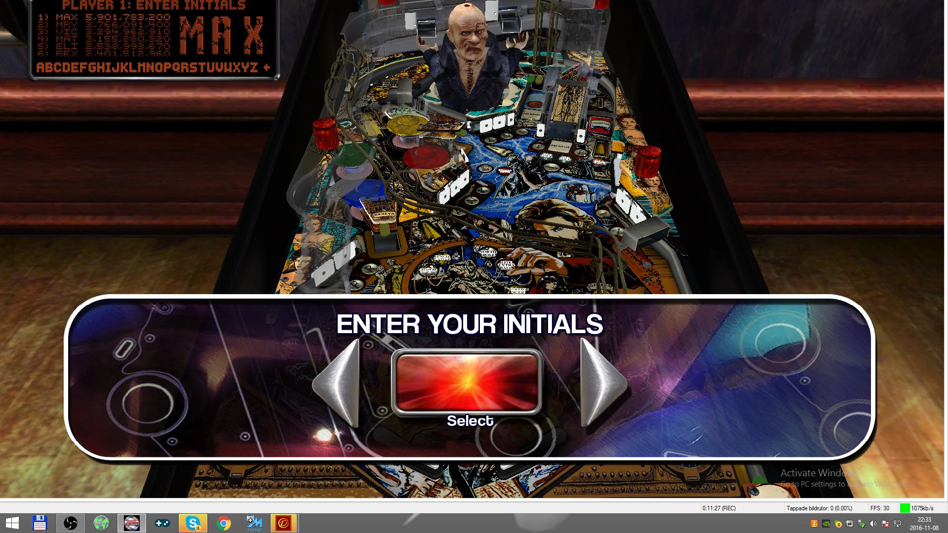 maxgreat: Pinball Arcade: Mary Shelley