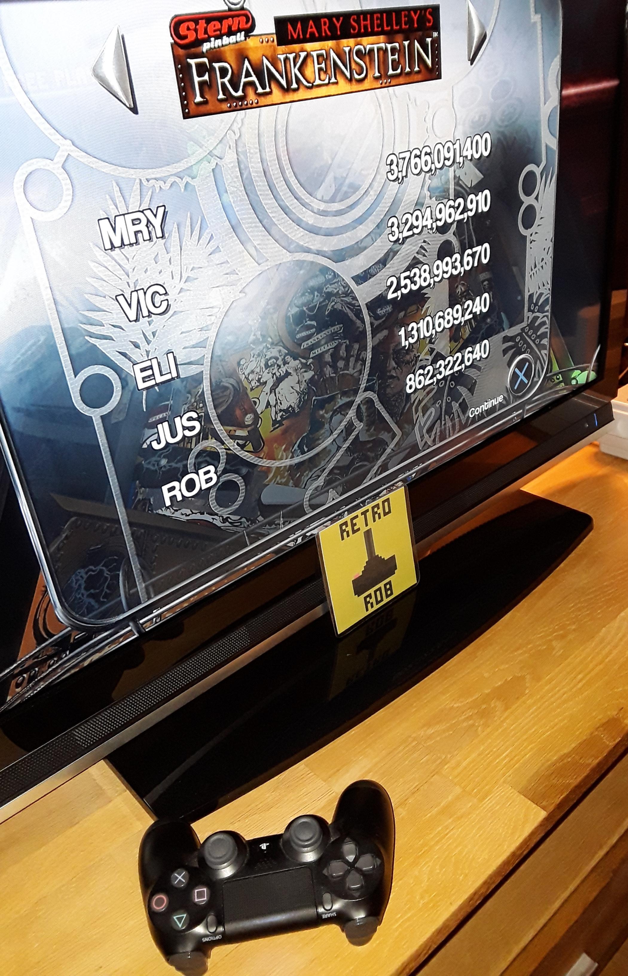 RetroRob: Pinball Arcade: Mary Shelley