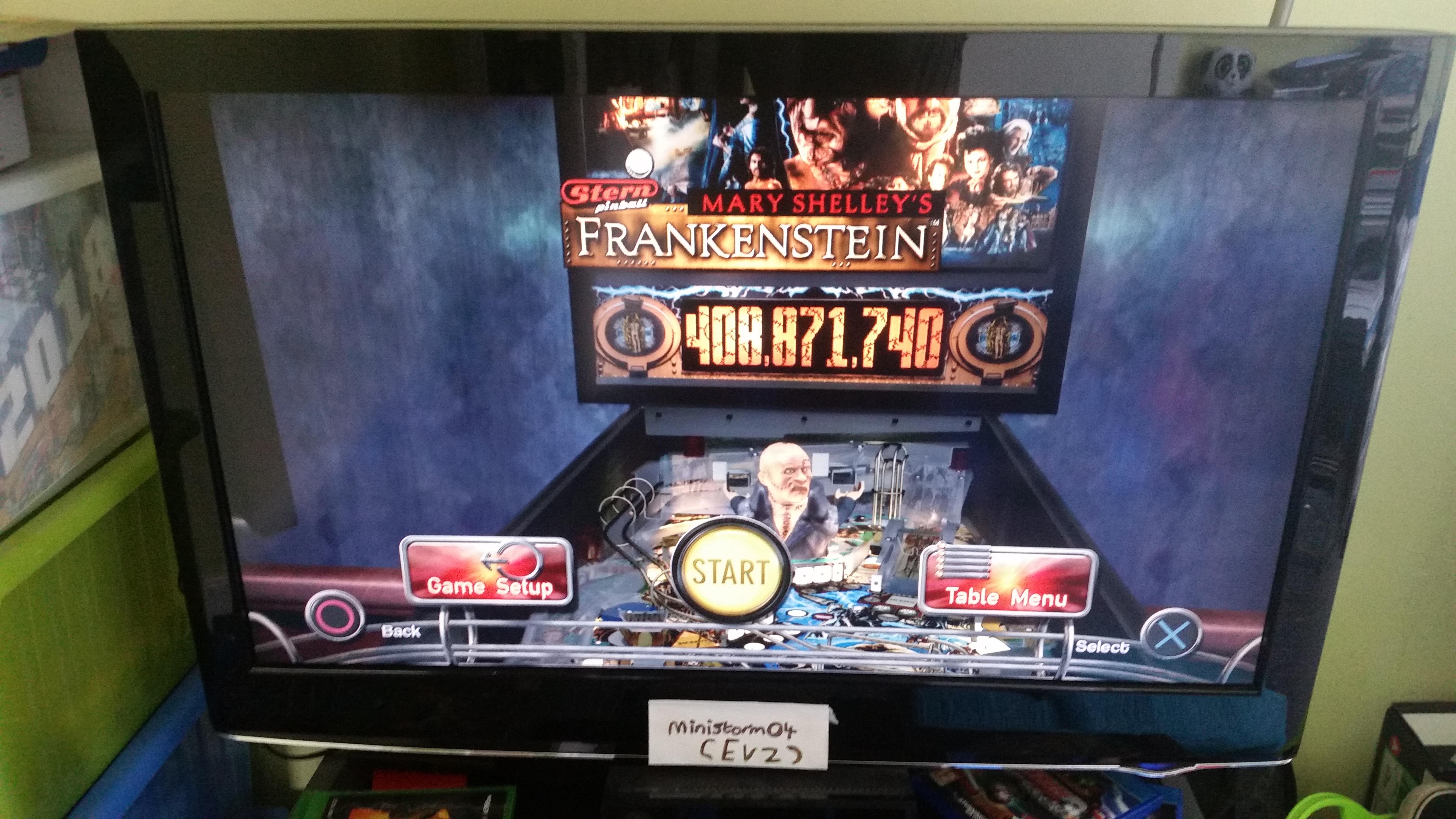ministorm04: Pinball Arcade: Mary Shelley
