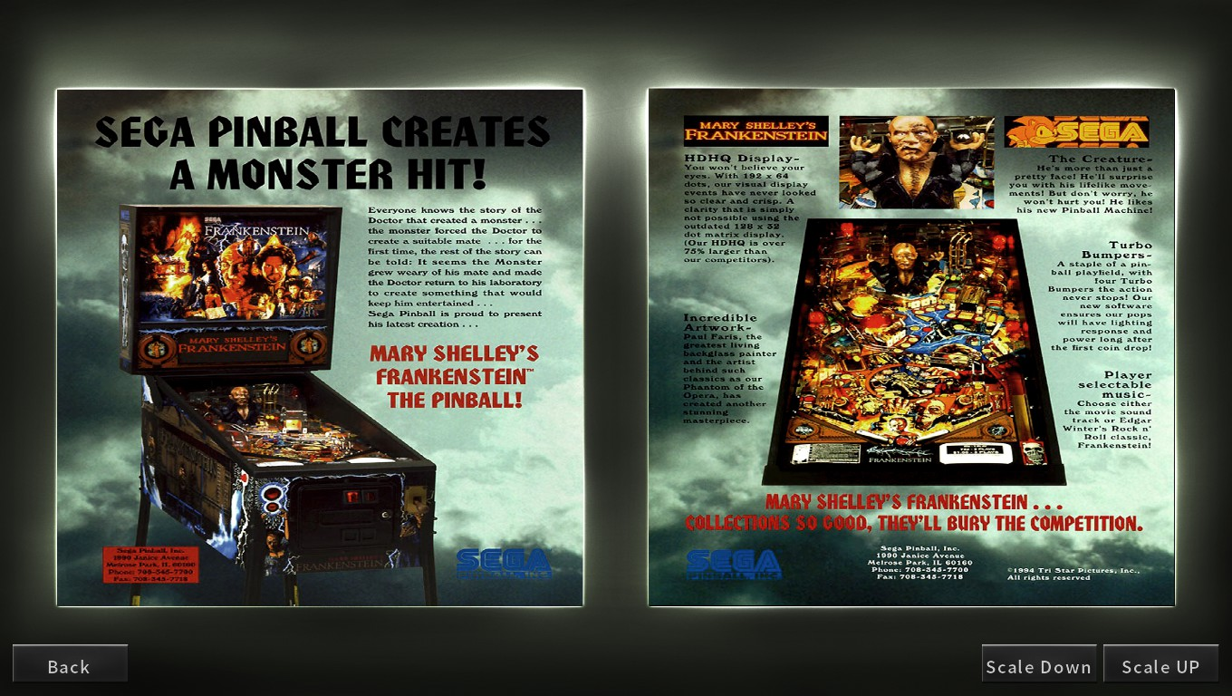 Mark: Pinball Arcade: Mary Shelly