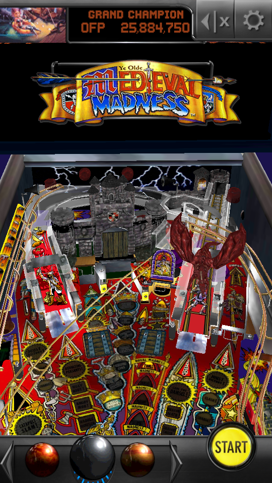 omargeddon: Pinball Arcade: Medieval Madness (Android) 25,884,750 points on 2018-05-19 13:11:07