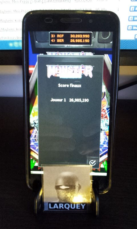 Larquey: Pinball Arcade: Monster Bash (Android) 26,985,190 points on 2017-01-29 02:44:07