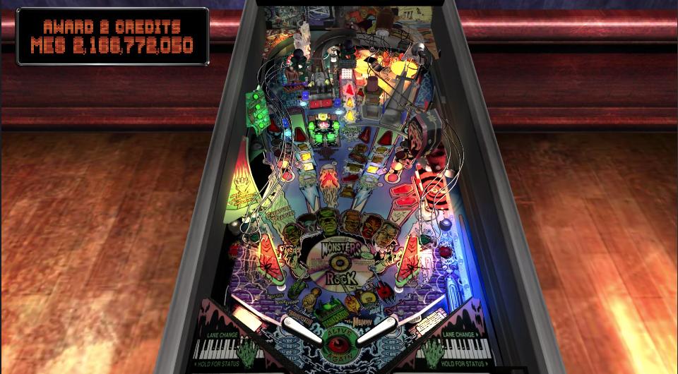 michaelsroka: Pinball Arcade: Monster Bash (Playstation 4) 2,166,772,050 points on 2020-08-06 21:55:00