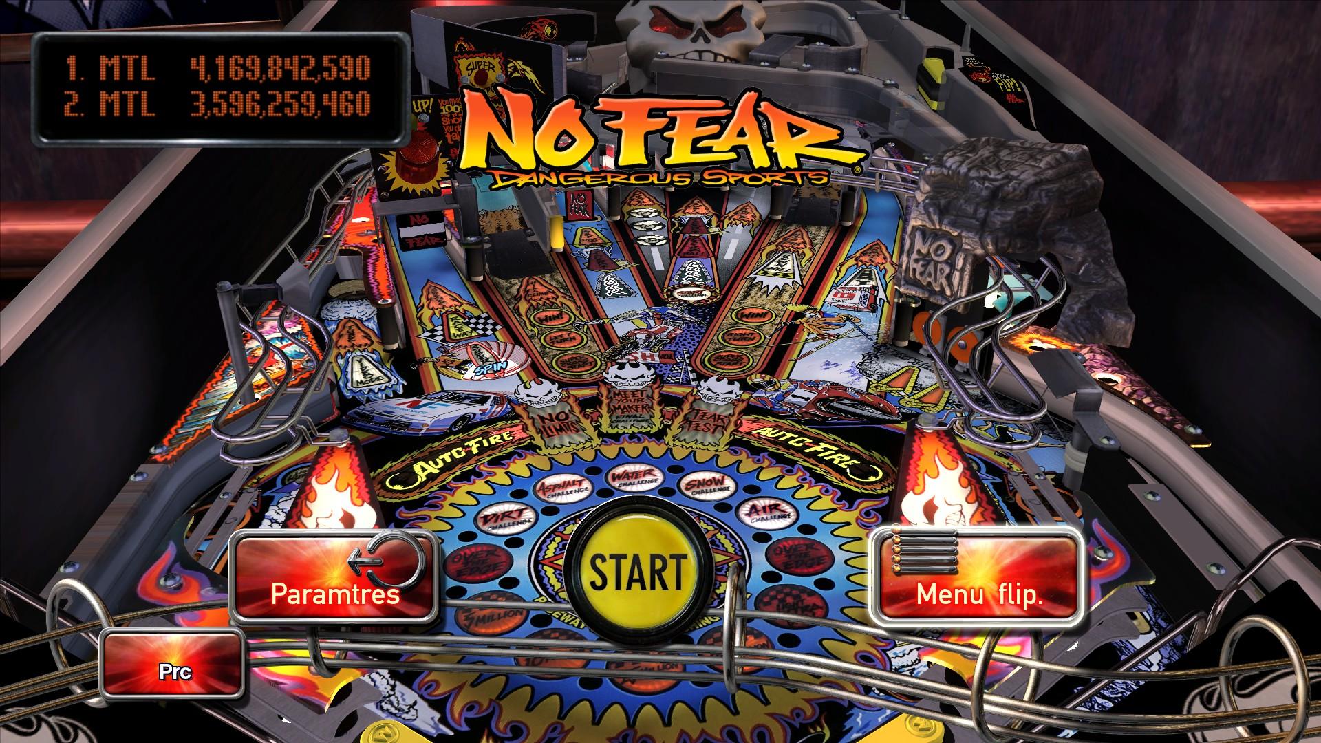 Mantalow: Pinball Arcade: No Fear: Dangerous Sports (PC) 4,169,842,590 points on 2015-12-06 23:34:43