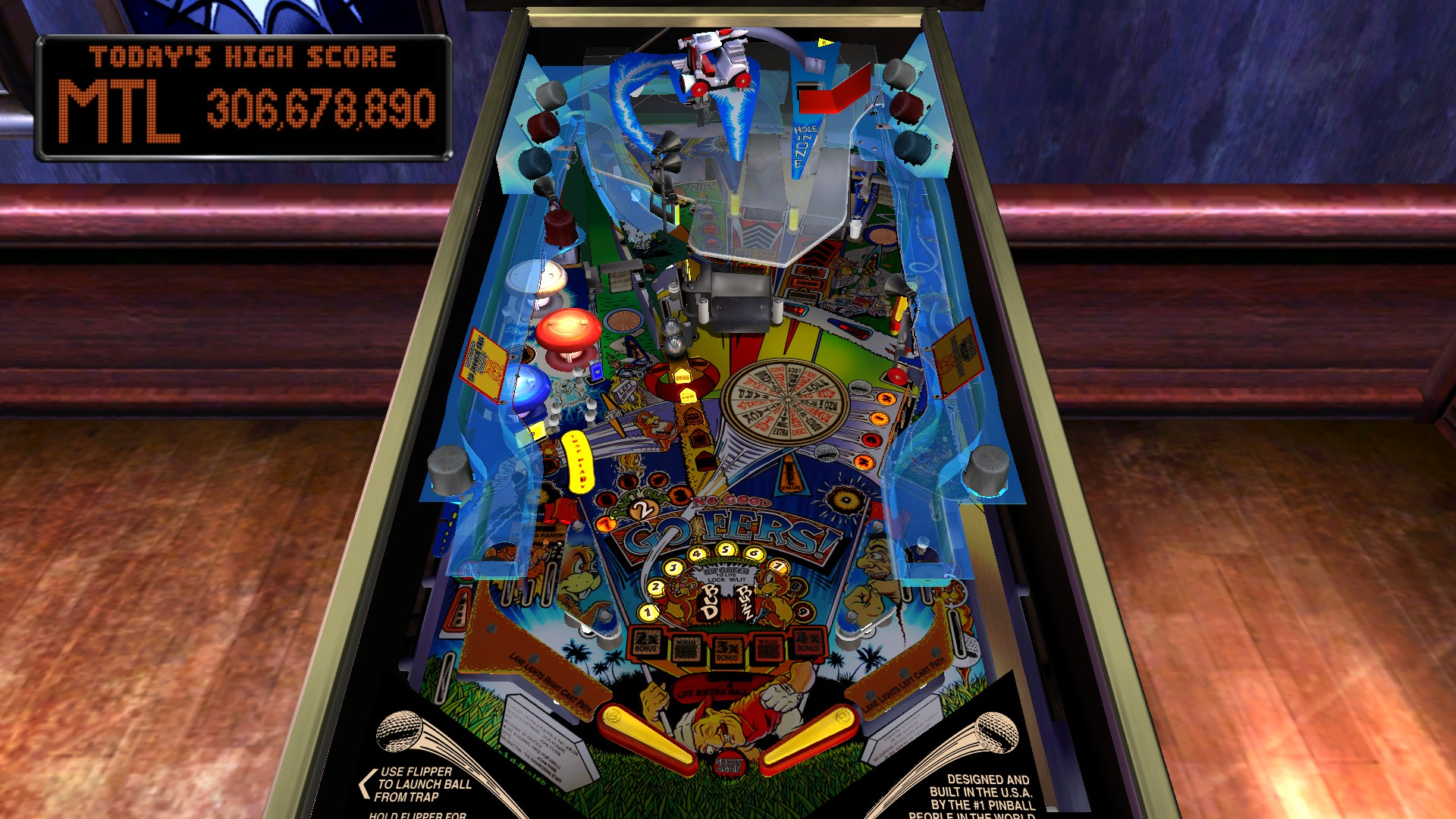 Mantalow: Pinball Arcade: No Good Goofers (PC) 306,678,890 points on 2016-05-13 08:11:32