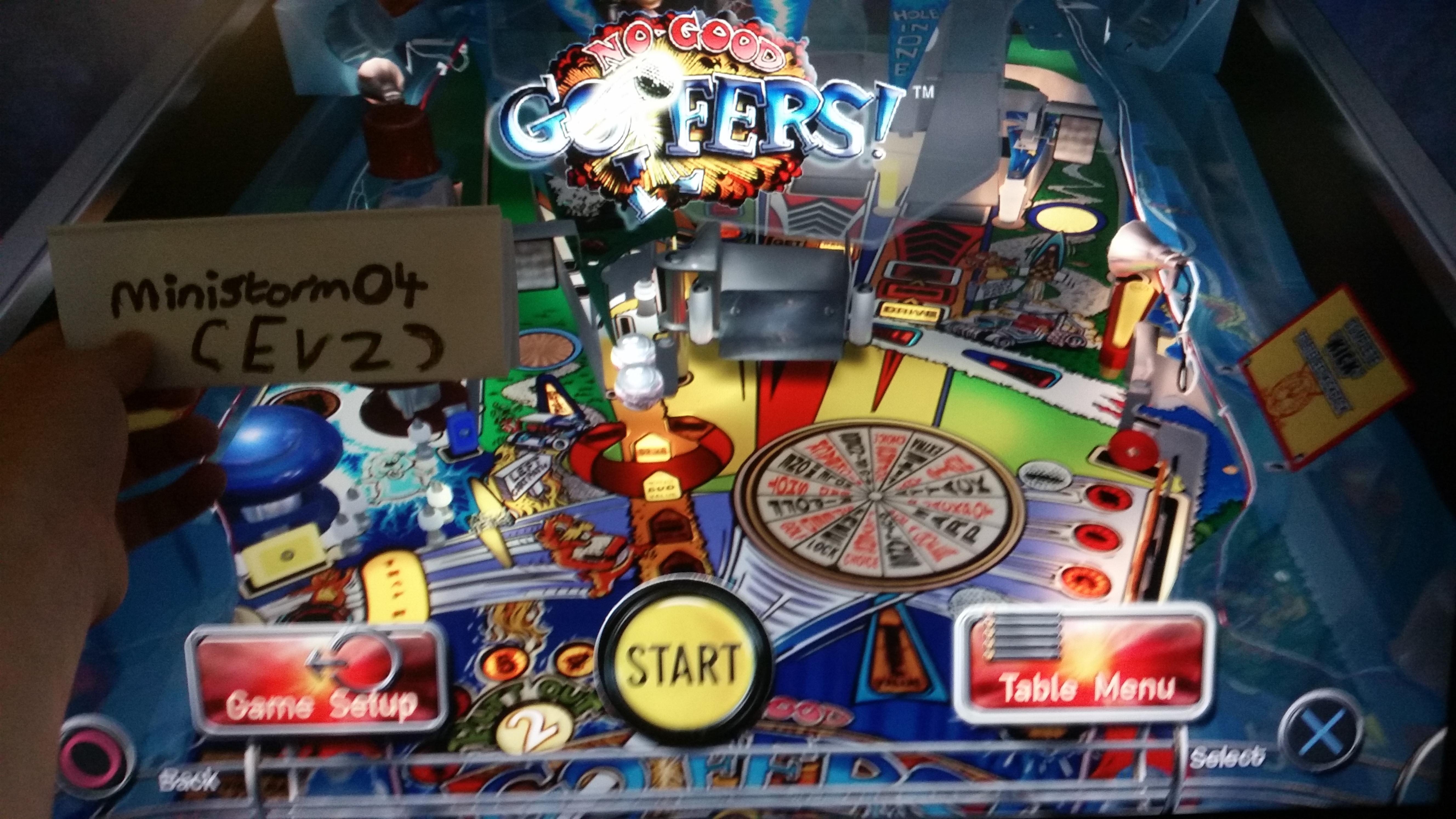 Pinball Arcade: No Good Goofers 21,133,080 points
