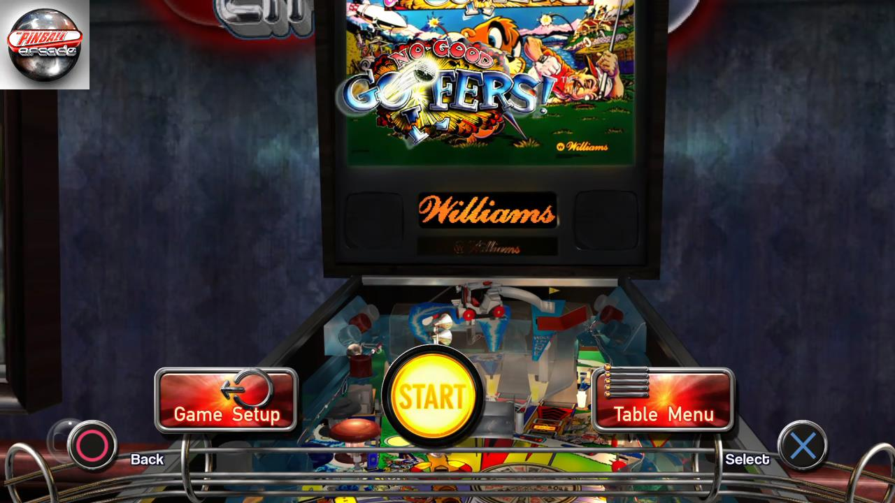 RetroRob: Pinball Arcade: No Good Goofers (Playstation 4) 29,252,110 points on 2019-11-29 15:22:36
