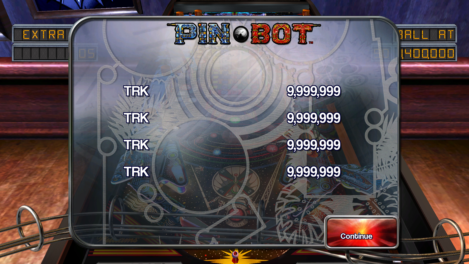 TheTrickster: Pinball Arcade: Pin*Bot (PC) 18,250,550 points on 2015-10-02 09:36:43