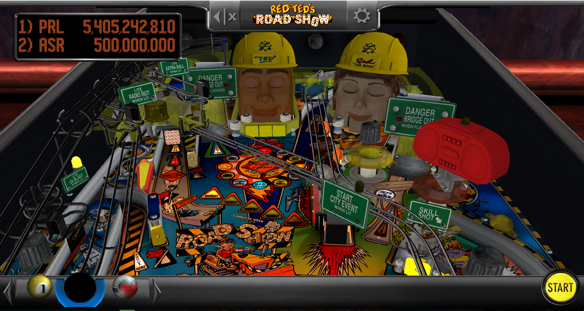 Pearl: Pinball Arcade: Red and Ted