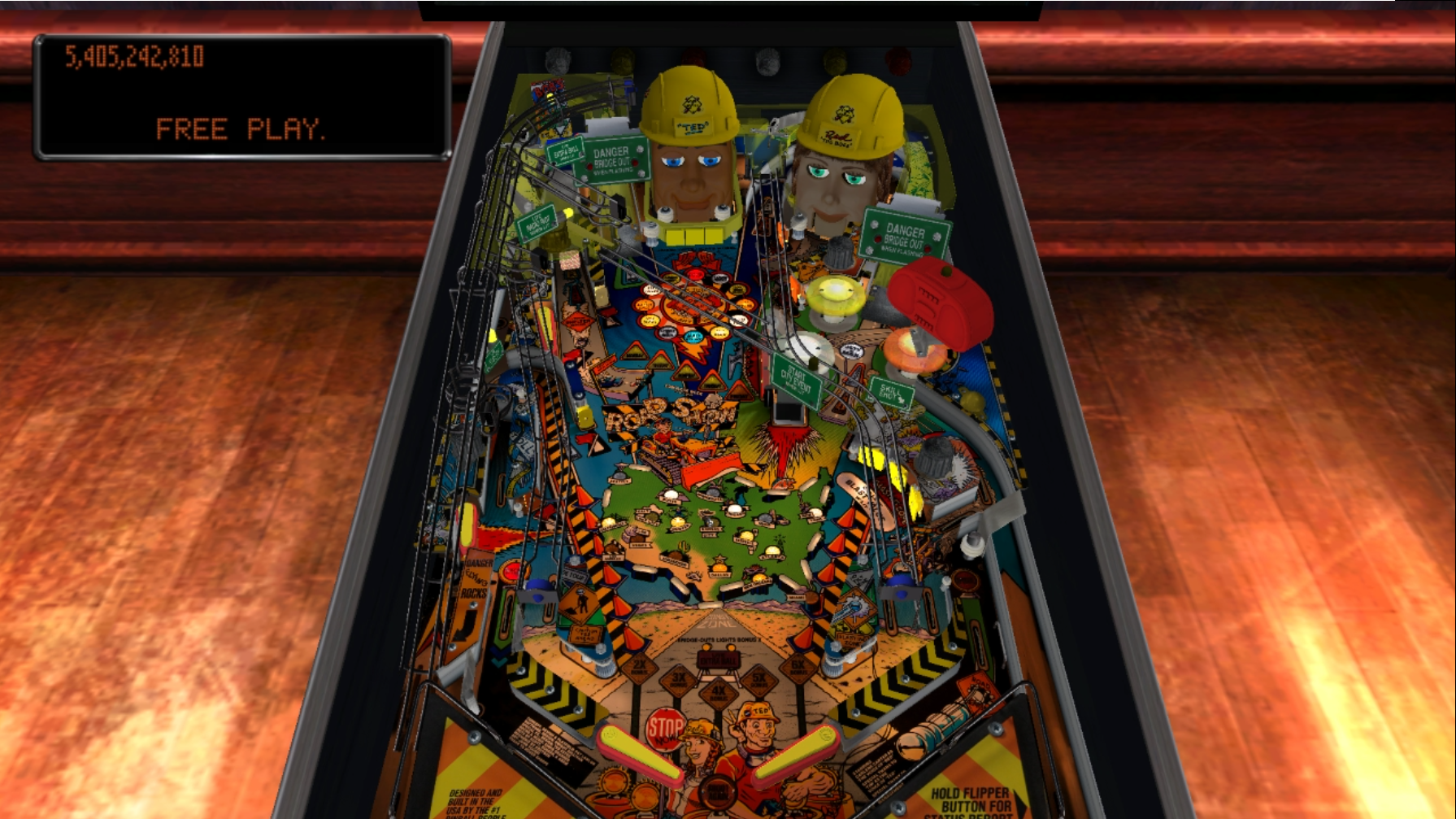 Pinball Arcade: Red and Ted