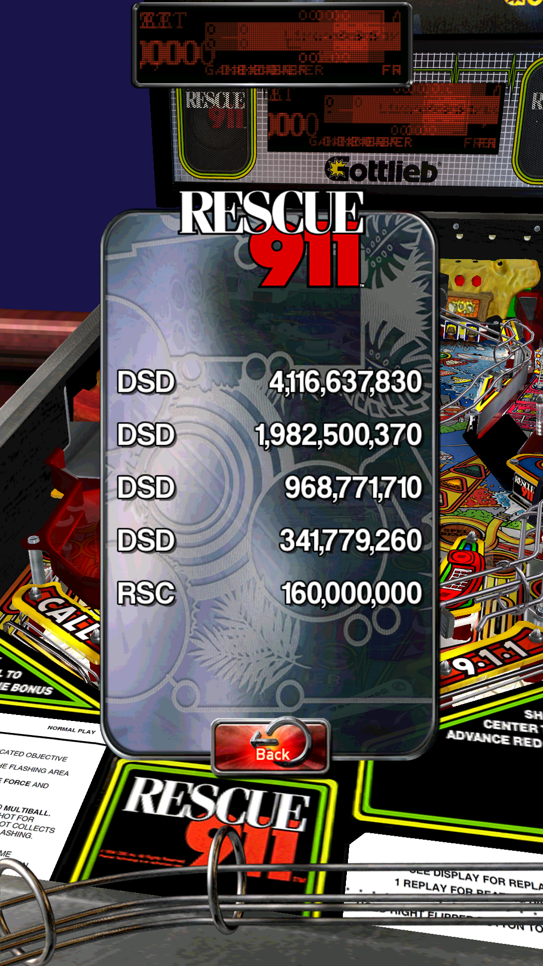 jondsd: Pinball Arcade: Rescue 911 (Android) 4,116,637,830 points on 2016-04-18 20:12:30