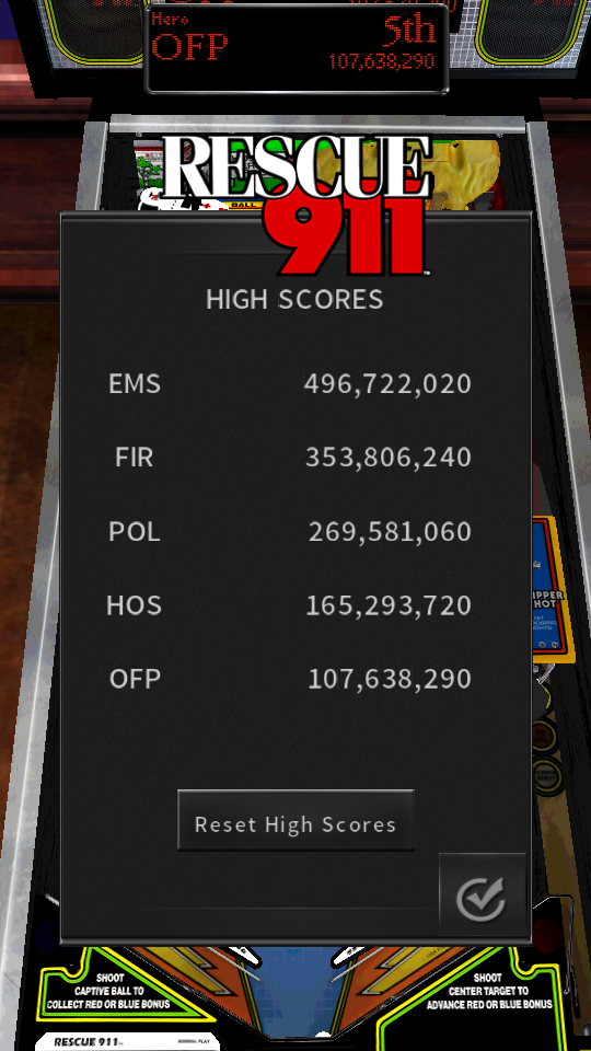 omargeddon: Pinball Arcade: Rescue 911 (Android) 107,638,290 points on 2018-07-15 17:19:26