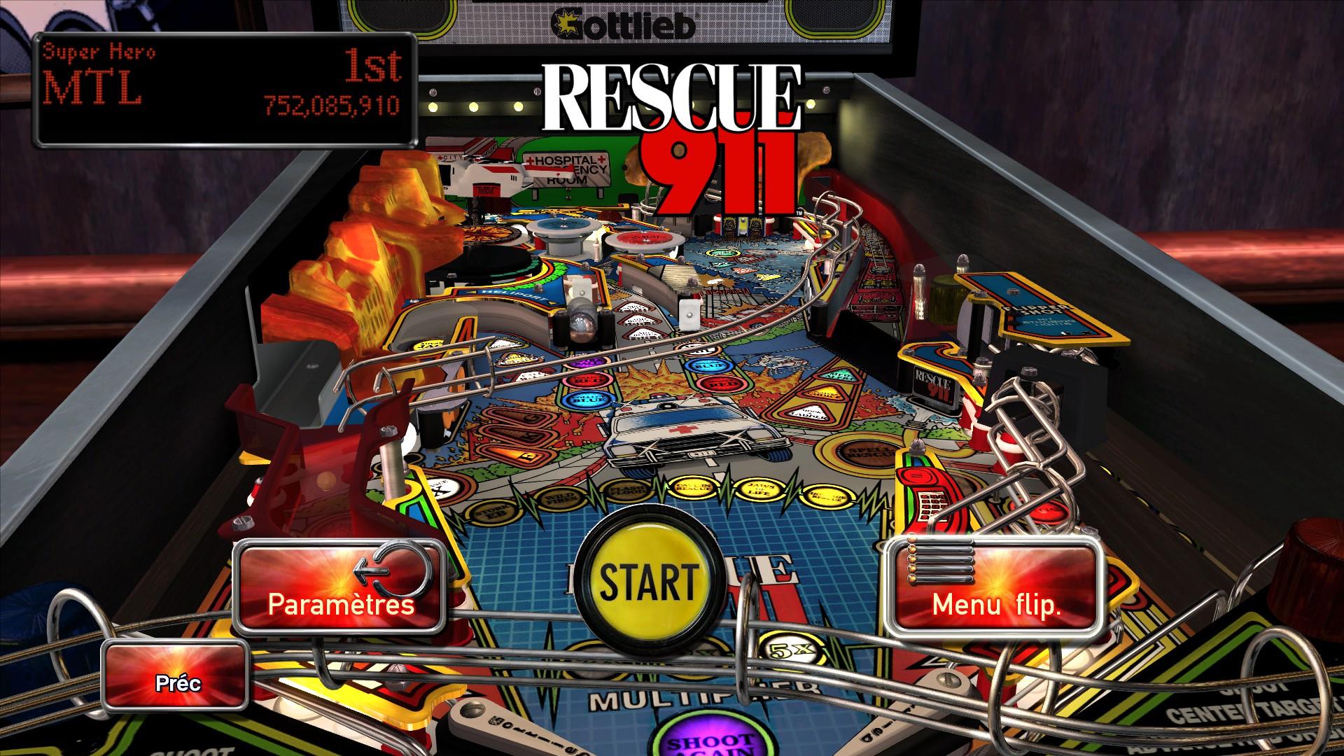 Mantalow: Pinball Arcade: Rescue 911 (PC) 752,085,910 points on 2016-03-31 04:16:24