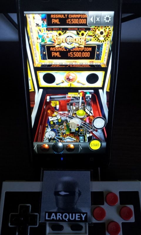 Larquey: Pinball Arcade: Safecracker (Android) 752,480 points on 2017-06-10 03:30:10