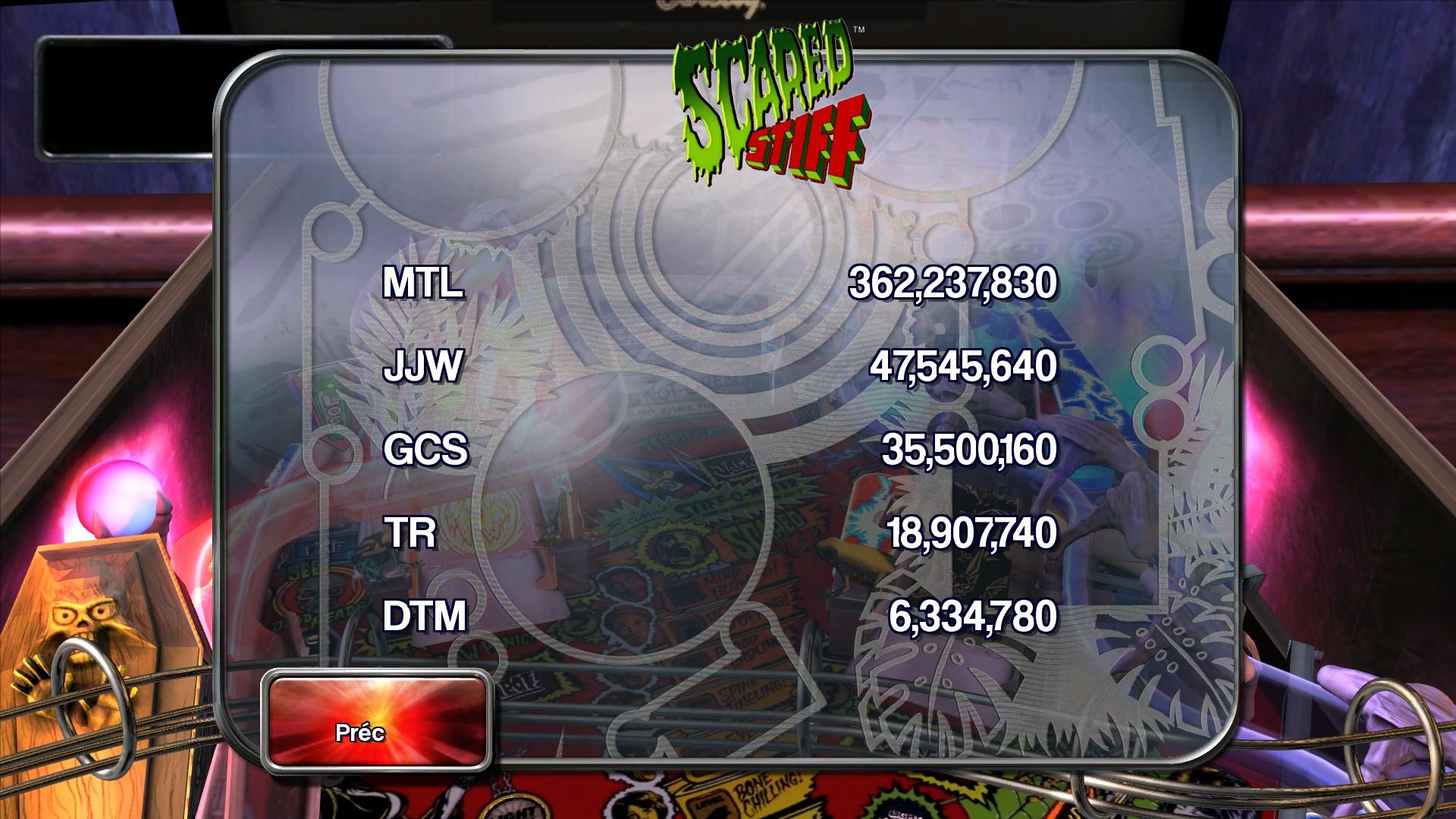 Mantalow: Pinball Arcade: Scared Stiff (PC) 362,237,830 points on 2015-08-29 11:10:41