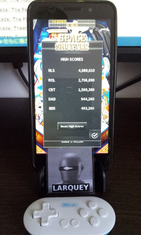 Larquey: Pinball Arcade: Space Shuttle (Android) 493,260 points on 2017-04-13 07:52:39