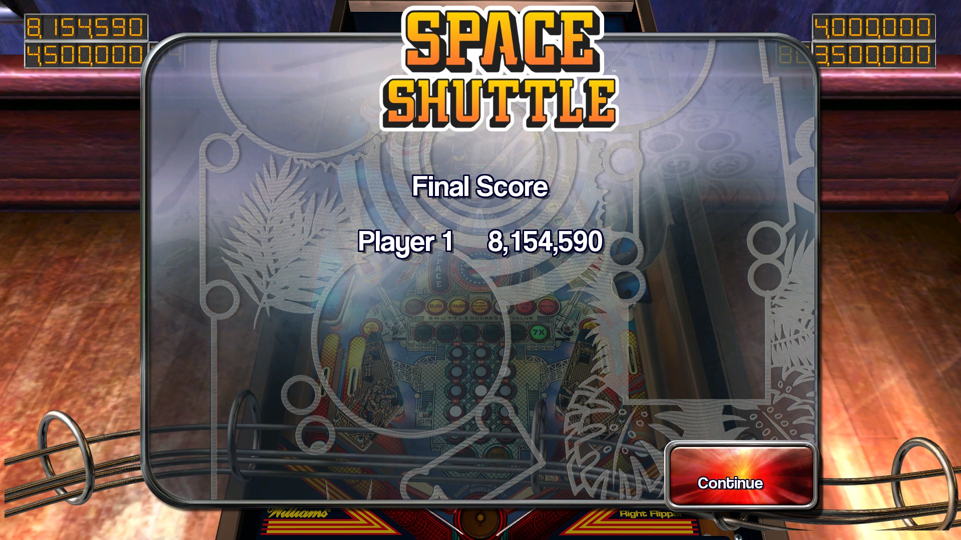 TheTrickster: Pinball Arcade: Space Shuttle (PC) 8,154,590 points on 2016-02-27 06:54:58