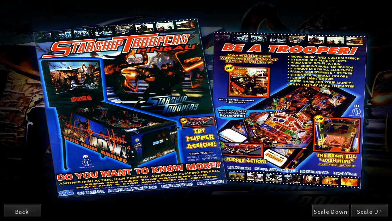 Mark: Pinball Arcade: Starship Troopers (PC) 140,706,410 points on 2018-05-22 00:36:58