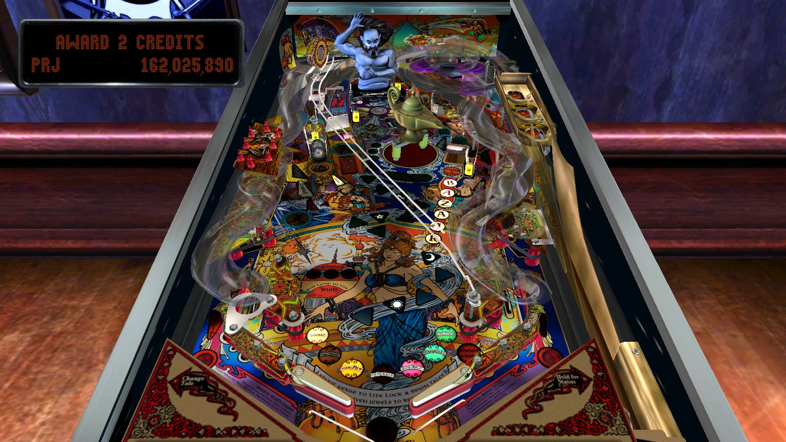 Deteacher: Pinball Arcade: Tales of the Arabian Nights [3 balls] (PC) 162,025,890 points on 2015-08-15 14:05:04