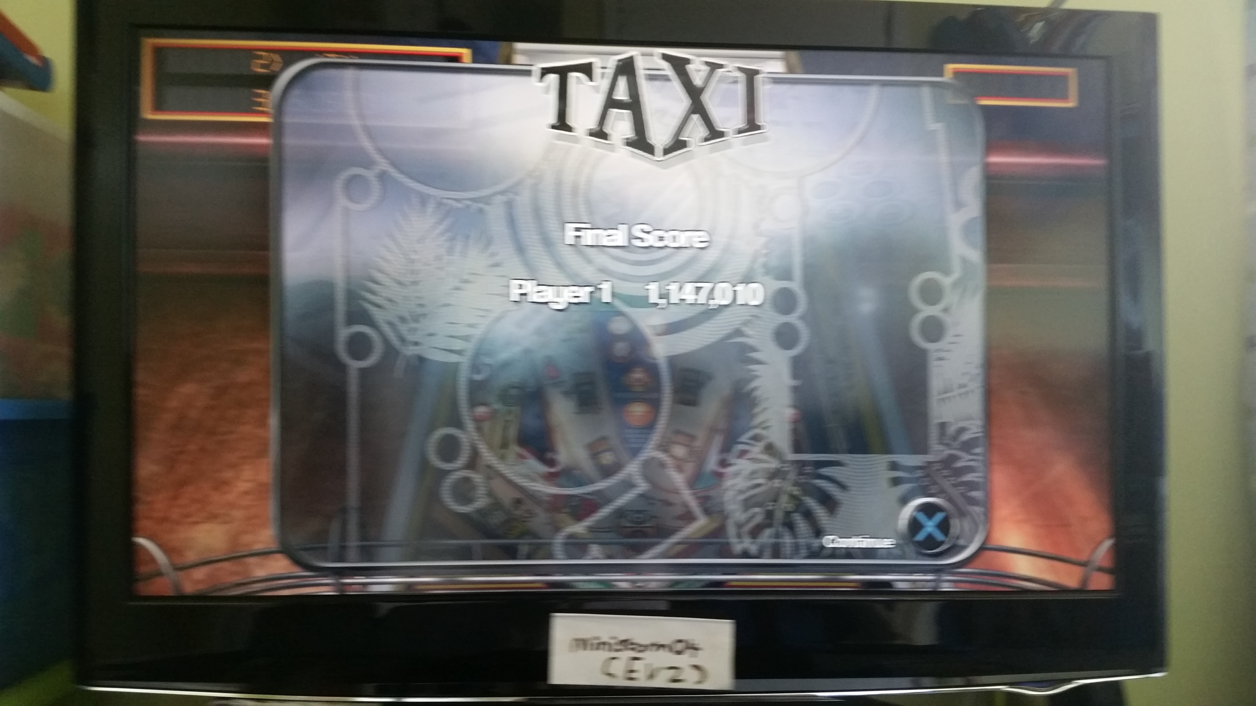 ministorm04: Pinball Arcade: Taxi (Playstation 4) 1,147,010 points on 2019-06-10 10:12:10