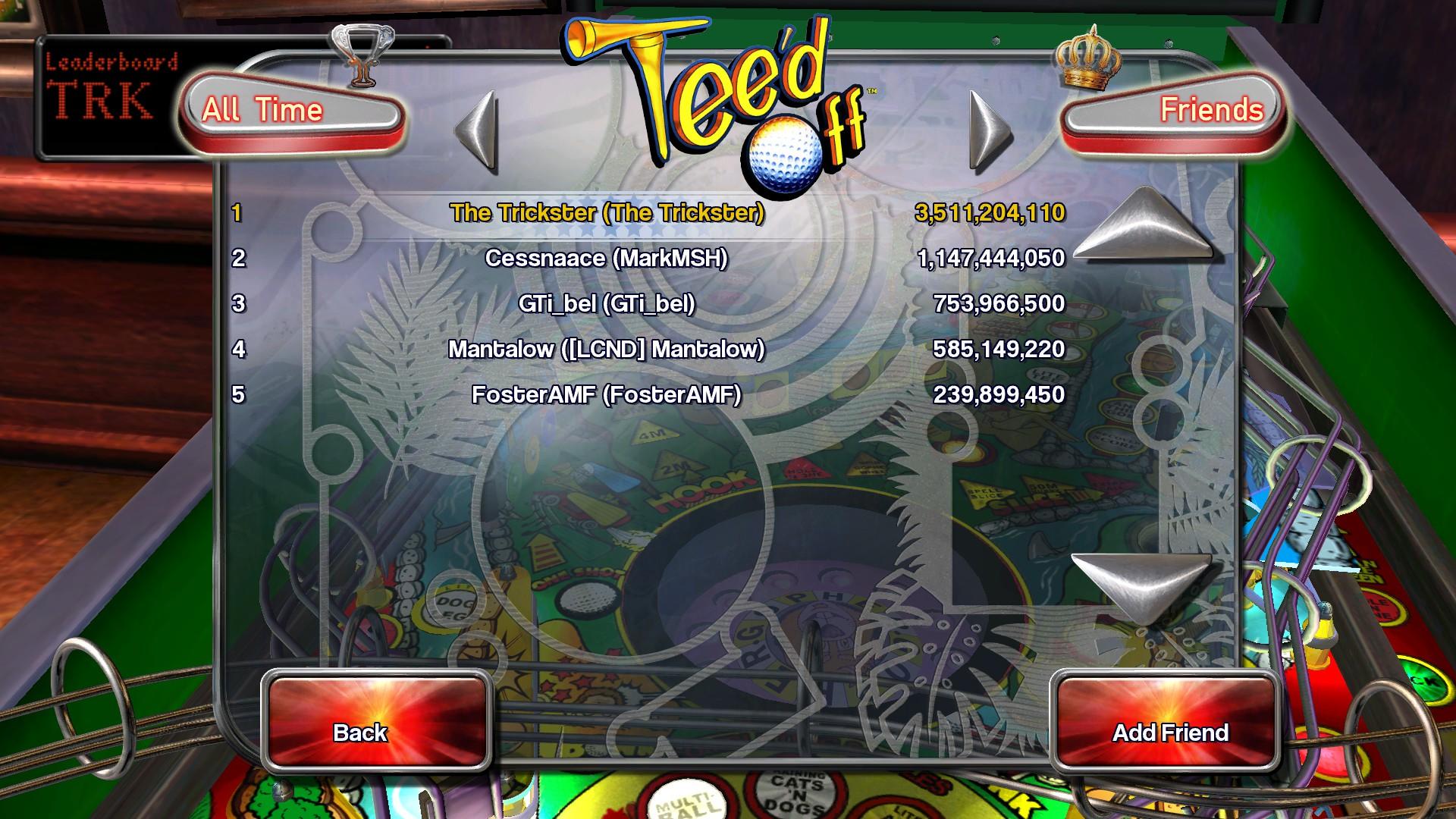 Pinball Arcade: Tee