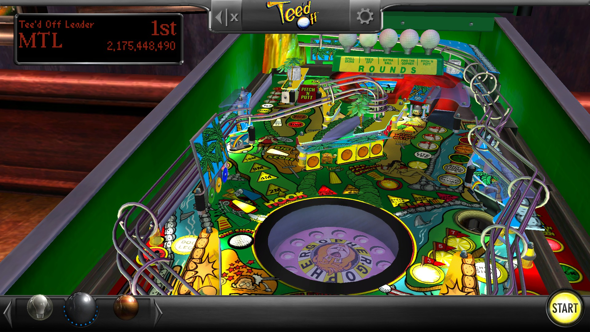 Mantalow: Pinball Arcade: Tee