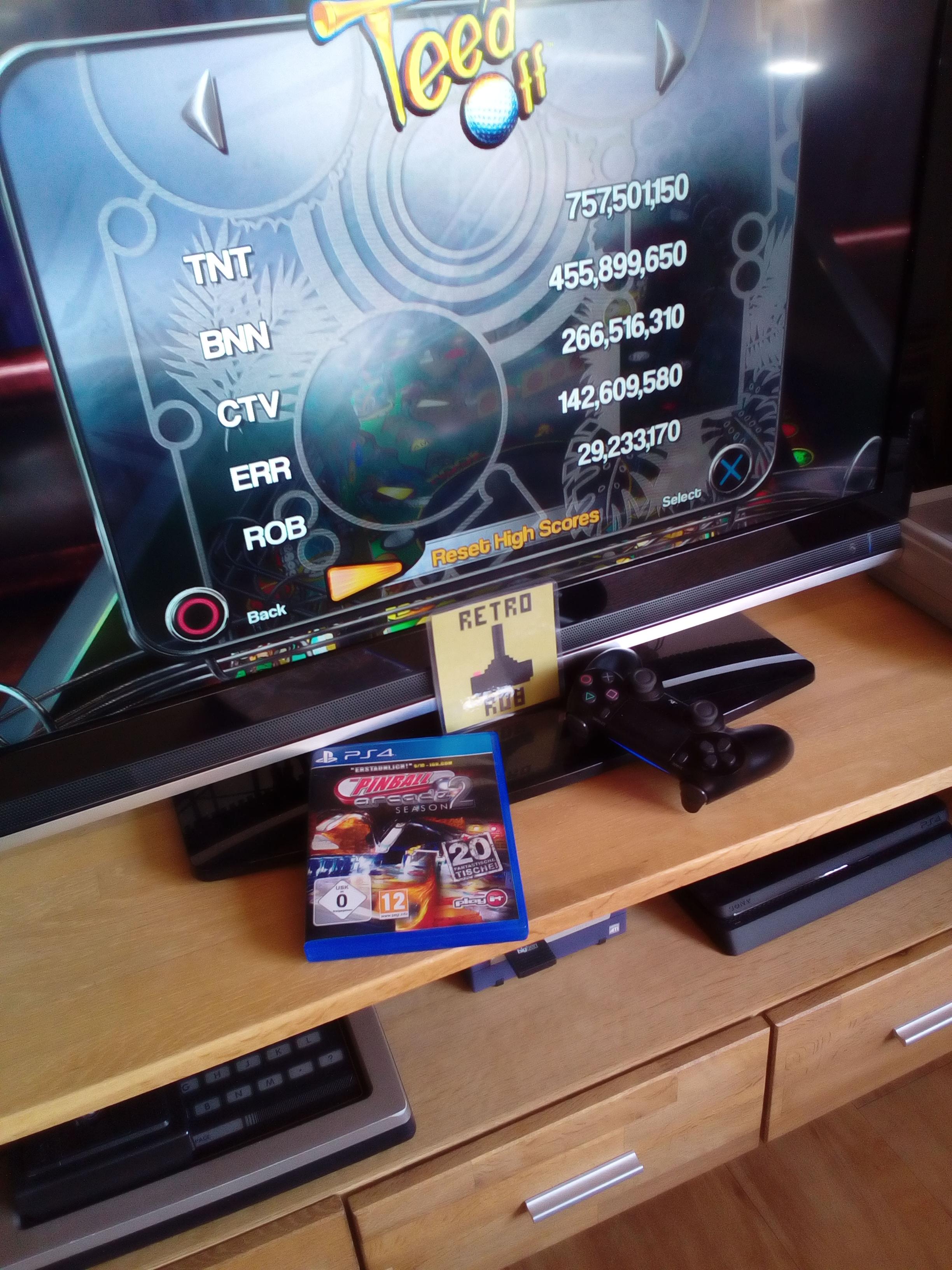 RetroRob: Pinball Arcade: Tee