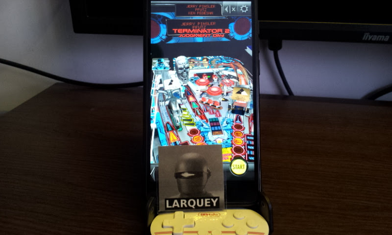 Larquey: Pinball Arcade: Terminator 2 (Android) 10,340,640 points on 2017-12-31 05:51:02