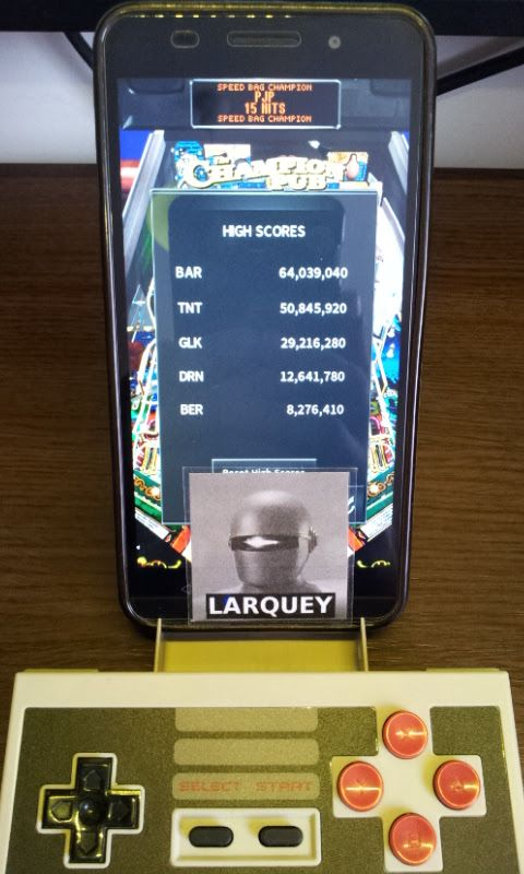 Larquey: Pinball Arcade: The Champion Pub (Android) 8,276,410 points on 2017-08-15 11:01:32