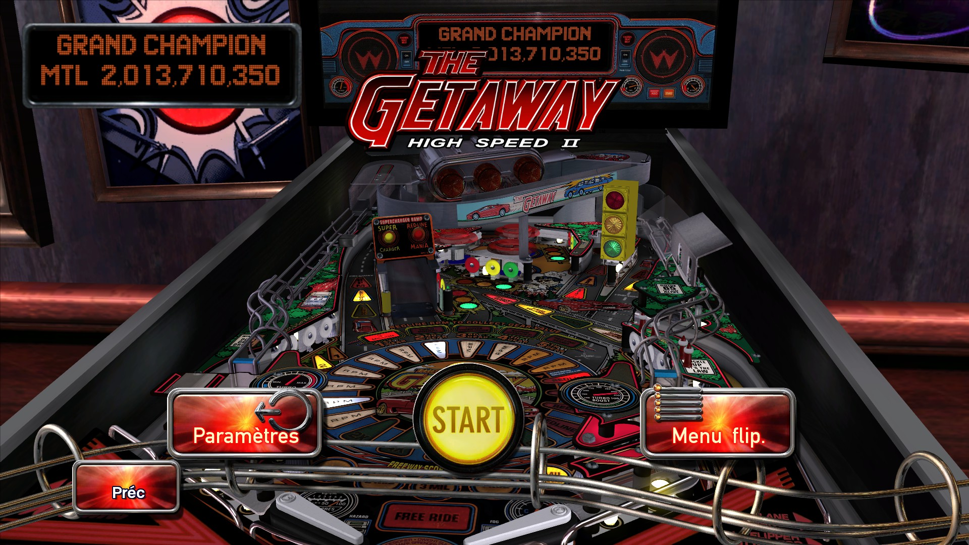 Mantalow: Pinball Arcade: The Getaway: High Speed II (PC) 2,013,710,350 points on 2015-12-21 12:15:17