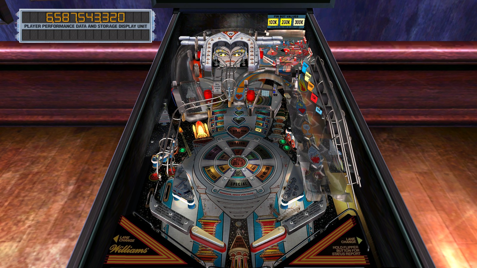 Deteacher: Pinball Arcade: The Machine: Bride of Pin*Bot (PC) 6,587,543,320 points on 2015-08-14 14:29:06