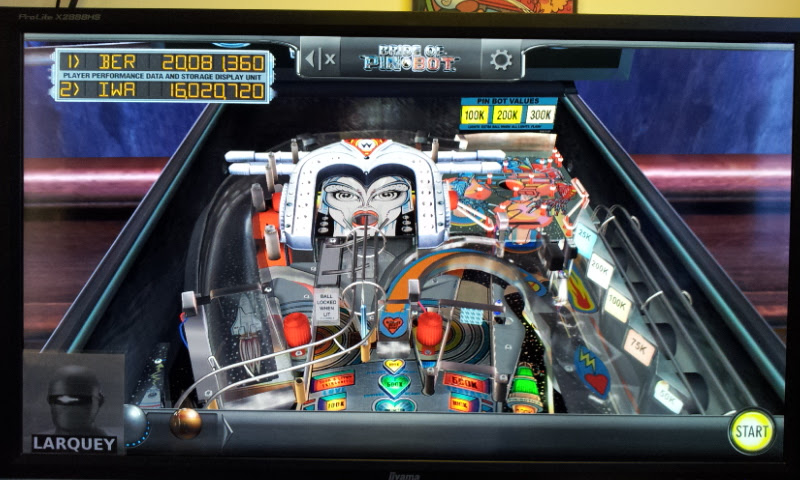 Larquey: Pinball Arcade: The Machine: Bride of Pin*Bot (PC) 20,081,360 points on 2017-10-08 04:04:36
