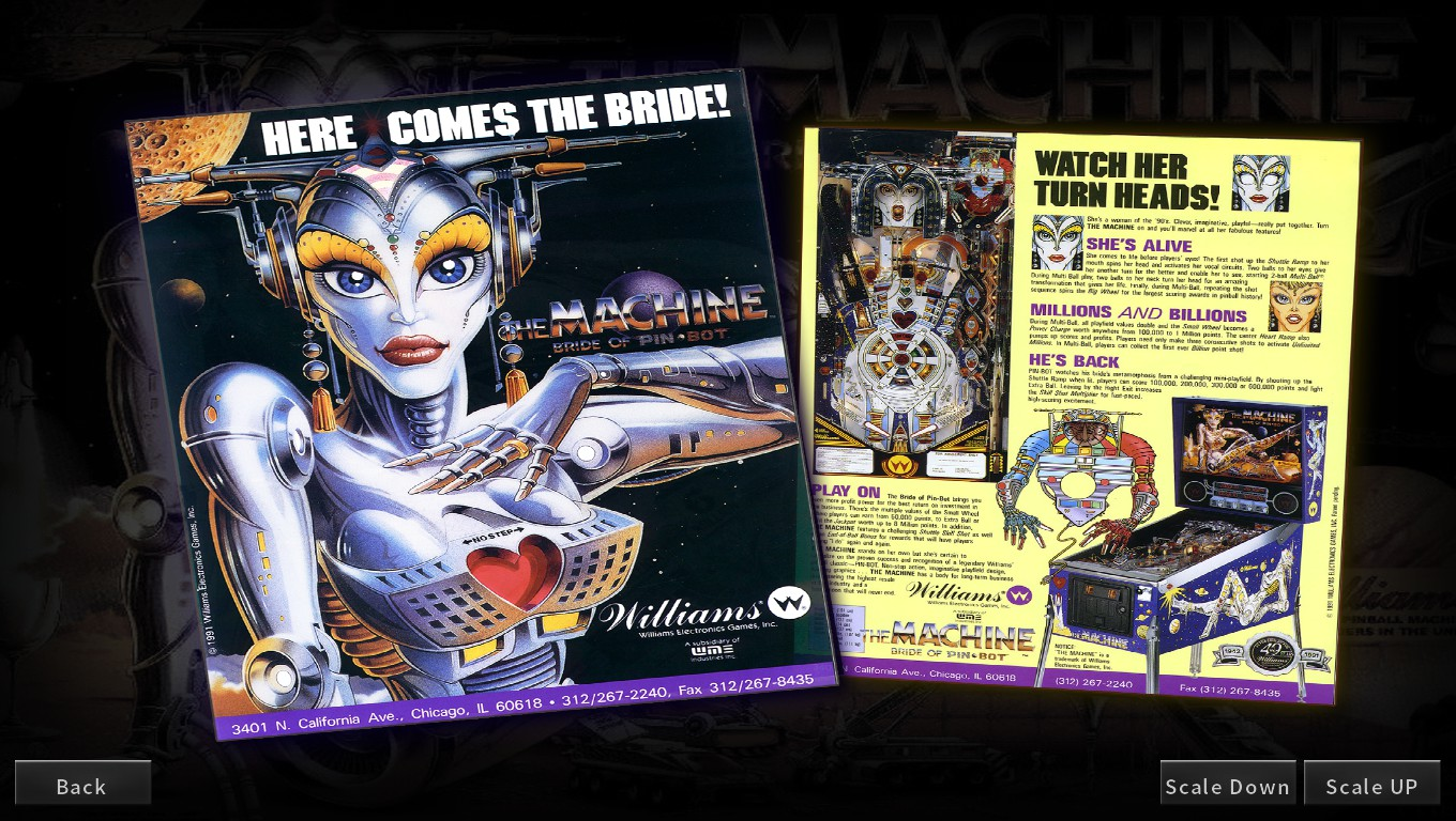 Mark: Pinball Arcade: The Machine: Bride of Pin*Bot (PC) 83,351,060 points on 2018-05-05 19:35:00
