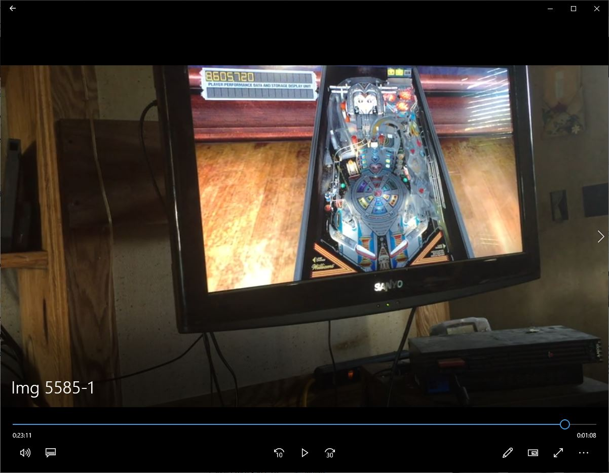 speedy4759123: Pinball Arcade: The Machine: Bride of Pin*Bot (Playstation 4) 8,605,720 points on 2019-09-26 07:00:21