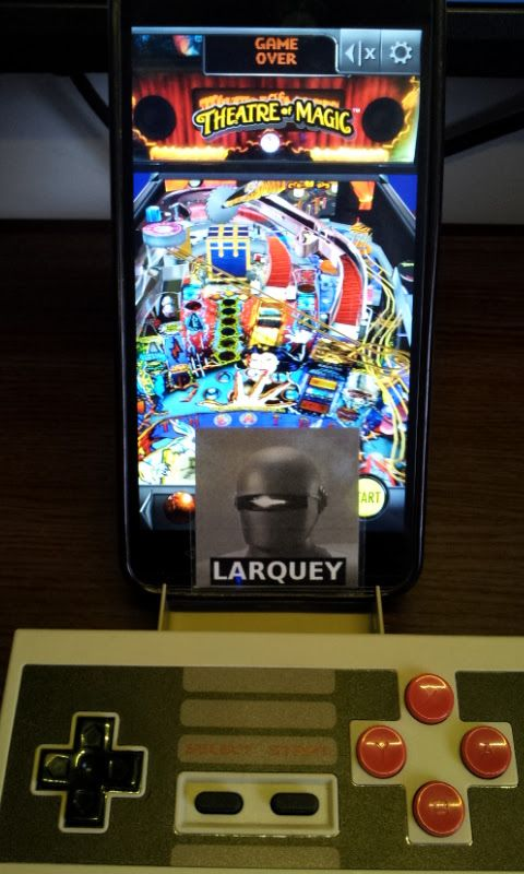 Larquey: Pinball Arcade: Theatre of Magic (Android) 500,667,480 points on 2017-08-15 10:57:04