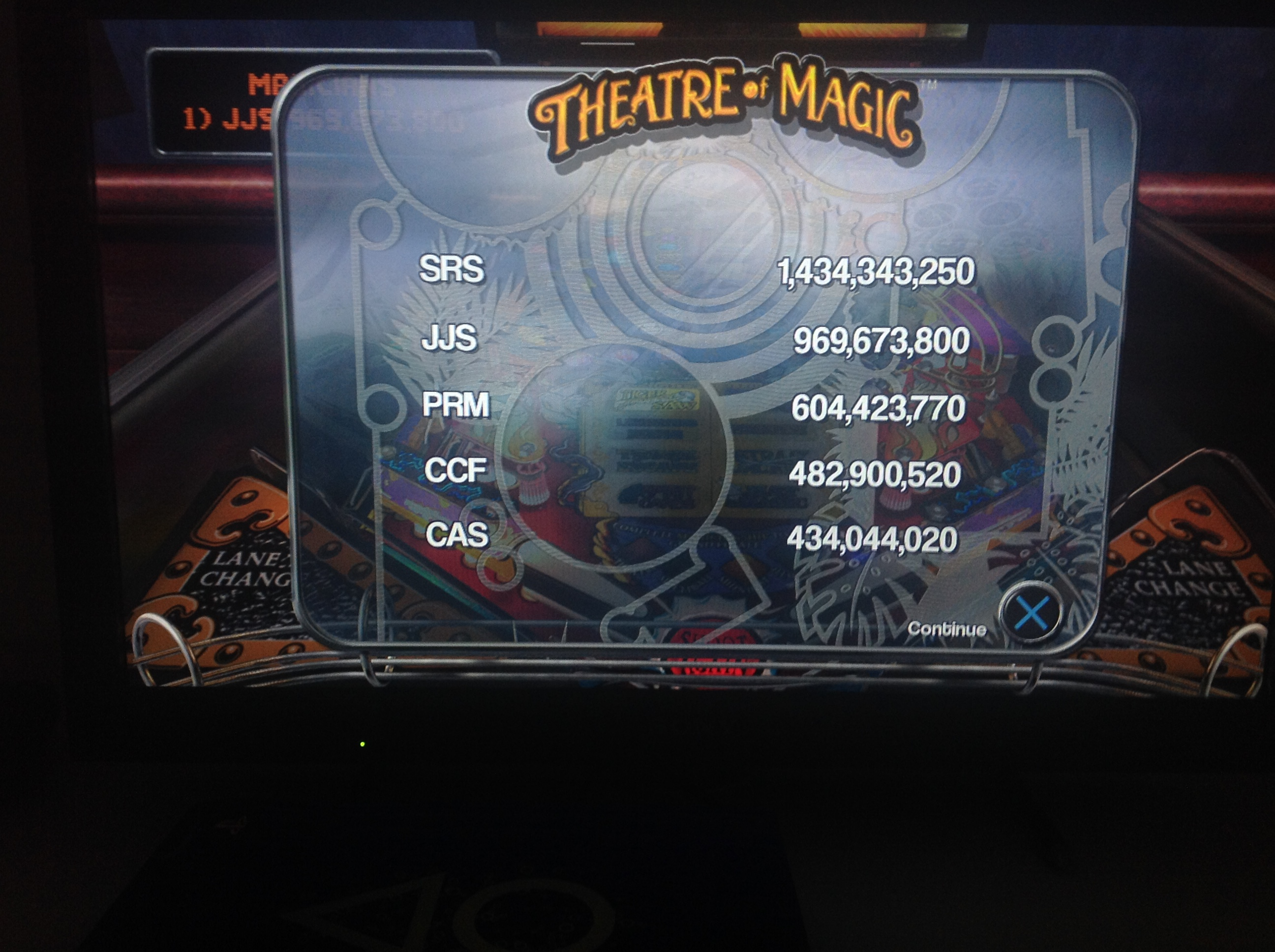 CoCoForest: Pinball Arcade: Theatre of Magic (Playstation 4) 482,900,520 points on 2018-07-06 14:55:39