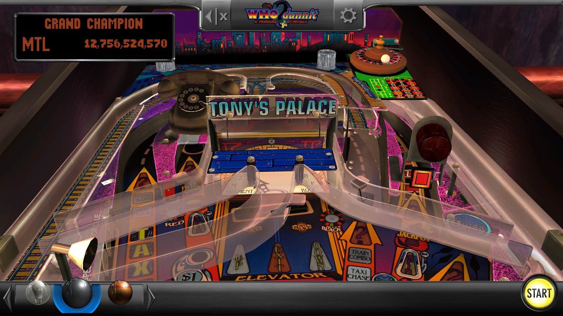 Mantalow: Pinball Arcade: WHO Dunnit (PC) 12,756,524,570 points on 2016-11-21 05:16:41