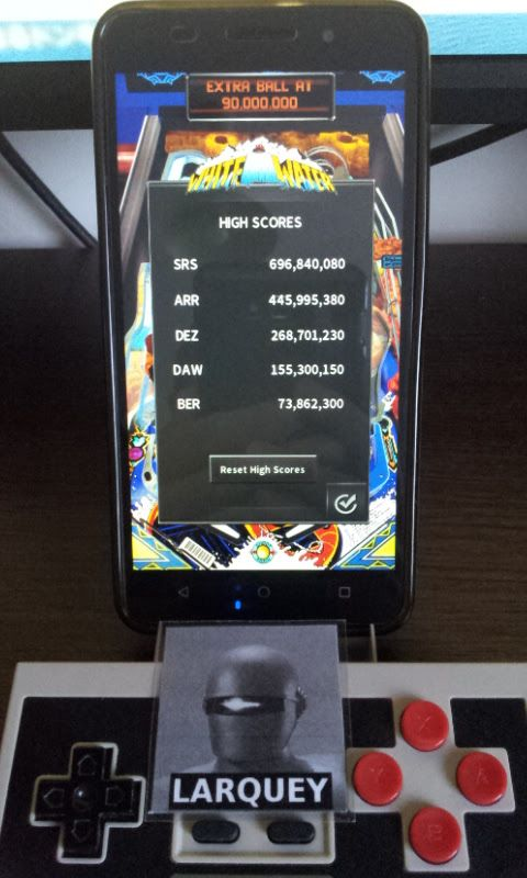 Larquey: Pinball Arcade: White Water (Android) 73,862,300 points on 2017-06-10 03:27:39
