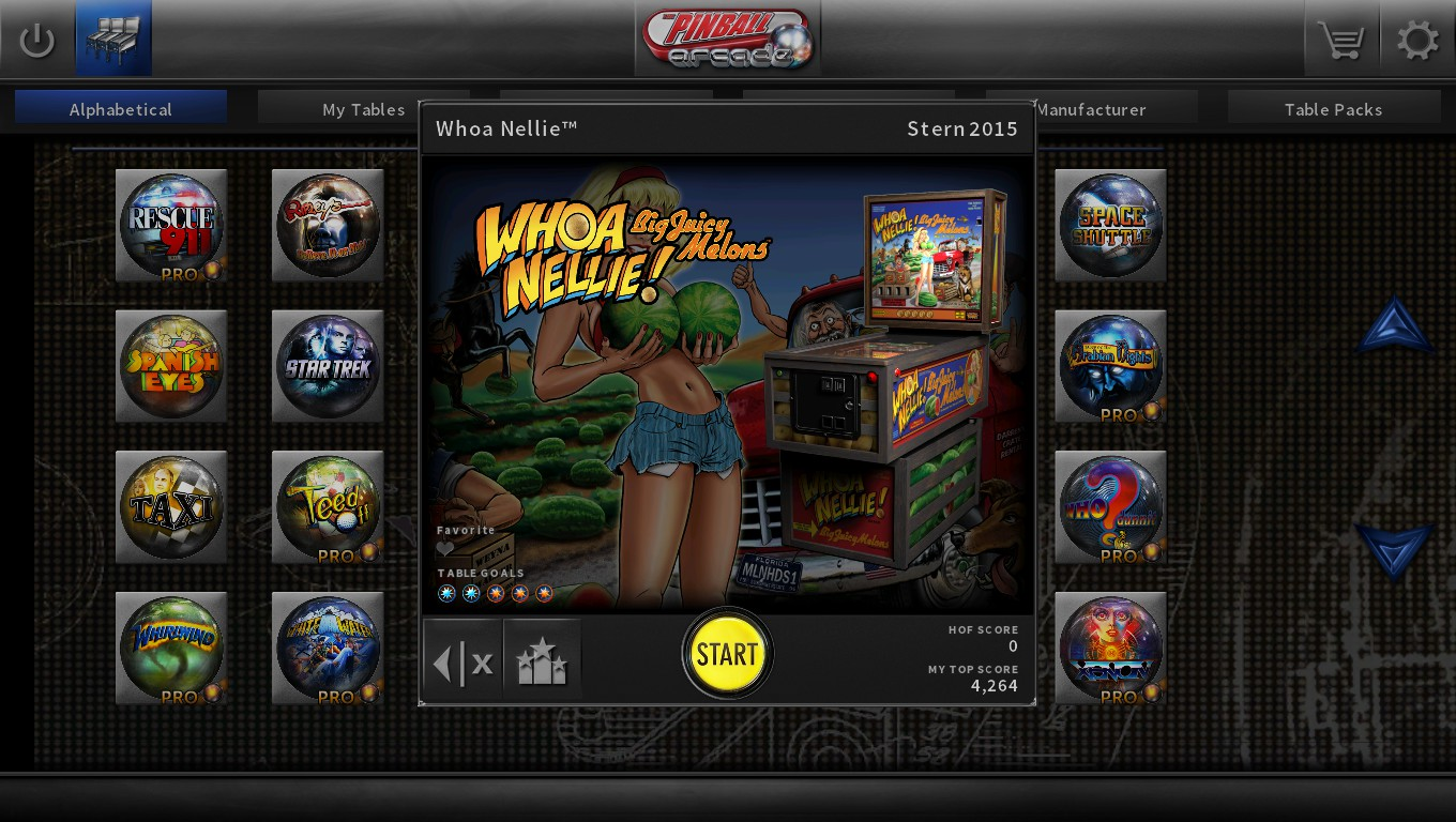Mark: Pinball Arcade: Whoa Nellie! Big Juicy Melons (PC) 3,709 points on 2018-09-12 01:05:53