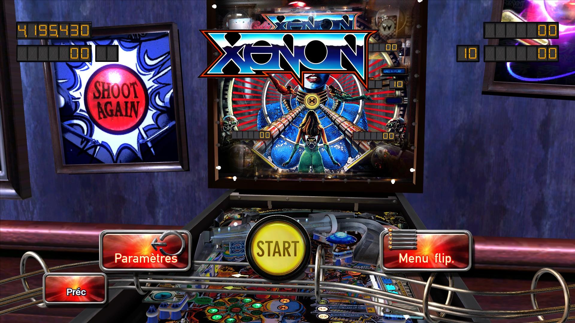 Mantalow: Pinball Arcade: Xenon (PC) 4,195,430 points on 2016-02-26 04:47:27