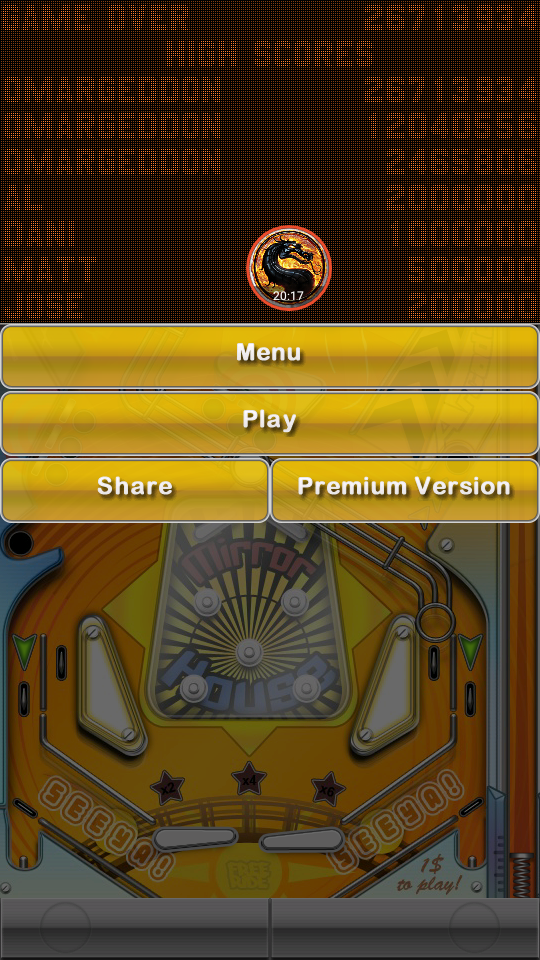omargeddon: Pinball Deluxe: Carnival (Android) 26,713,934 points on 2019-05-27 23:15:04