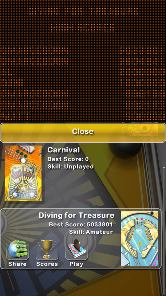 omargeddon: Pinball Deluxe: Diving For Treasure (Android) 5,033,801 points on 2019-04-30 01:54:30