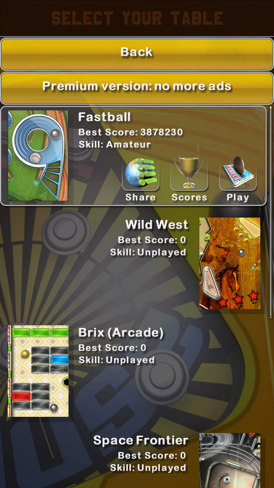 omargeddon: Pinball Deluxe: Fastball (Android) 3,878,230 points on 2018-05-26 18:21:21