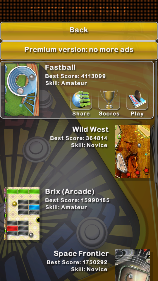 omargeddon: Pinball Deluxe: Fastball (Android) 4,113,099 points on 2018-07-16 23:23:30