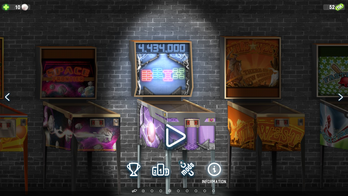Mark: Pinball Deluxe: Reloaded: Brix (PC) 4,434,000 points on 2018-05-16 02:13:36