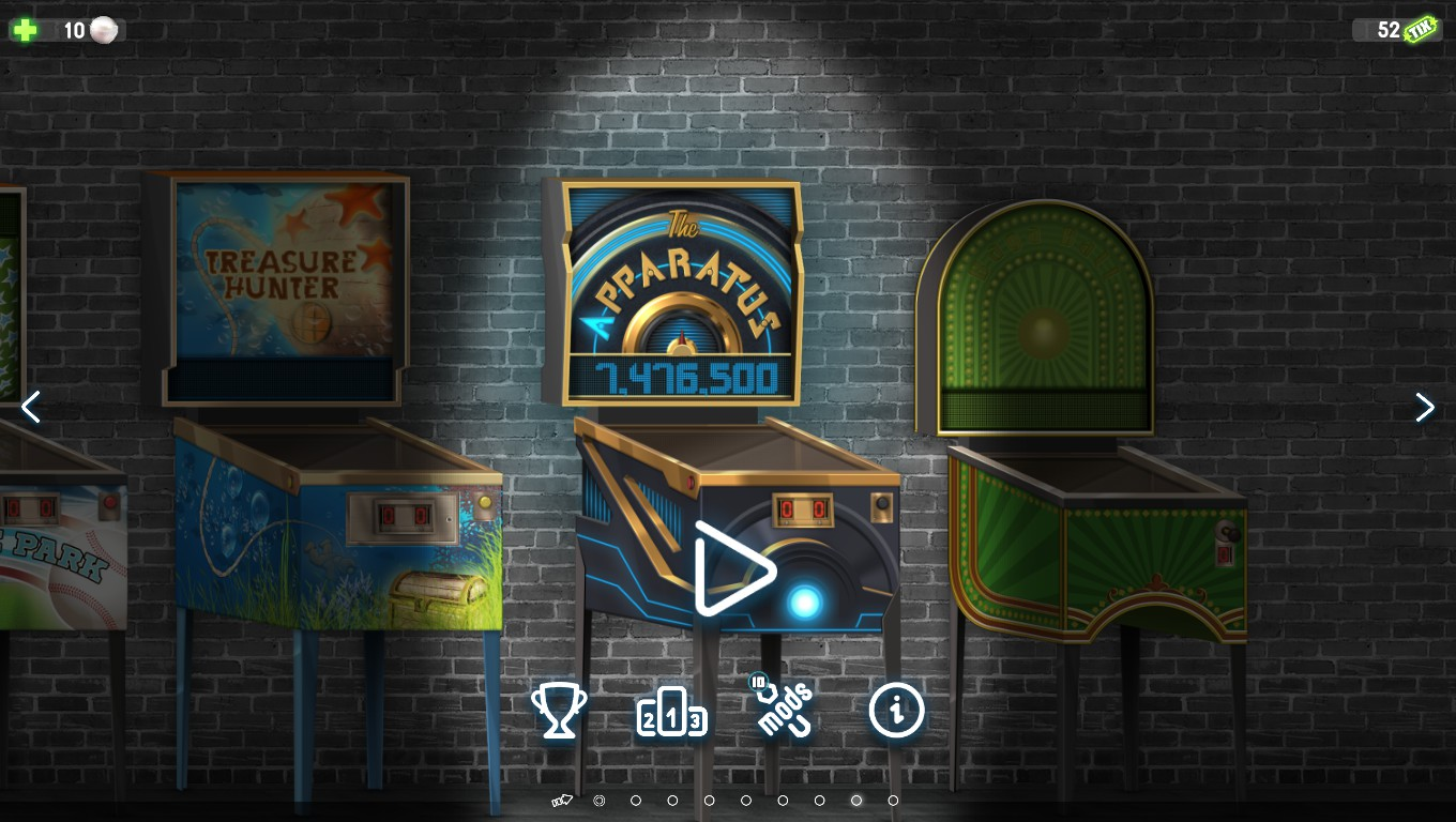 Pinball Deluxe: Reloaded: The Apparatus 7,476,500 points