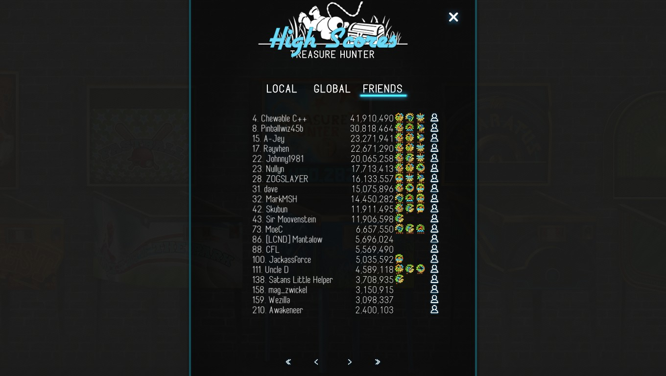 Mark: Pinball Deluxe: Reloaded: Treasure Hunter (PC) 14,450,282 points on 2018-08-15 00:24:16