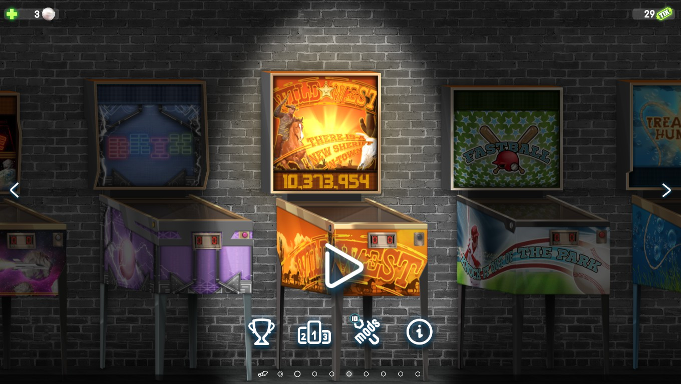 Mark: Pinball Deluxe: Reloaded: Wild West (PC) 10,373,954 points on 2018-08-07 00:17:14