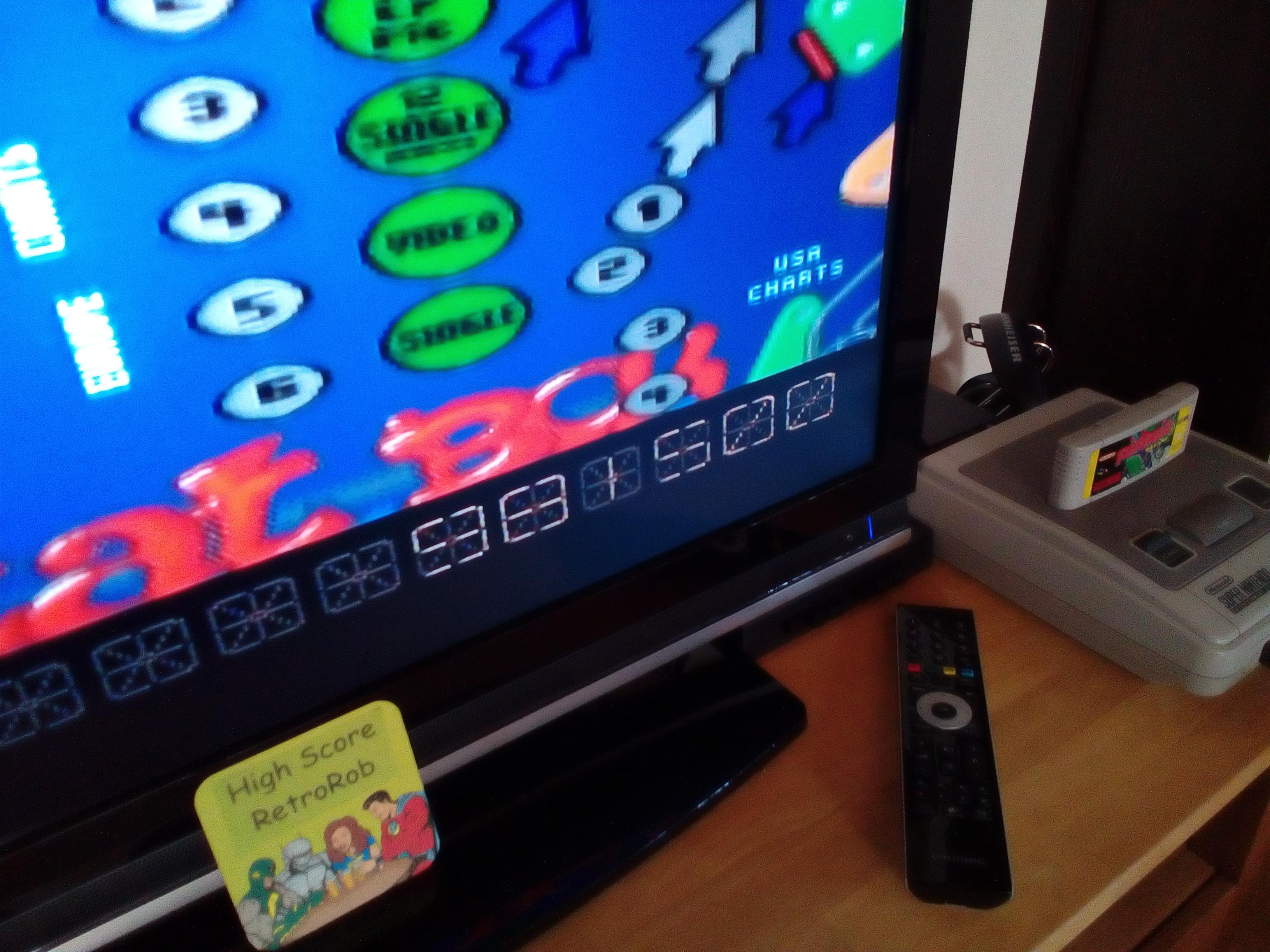 RetroRob: Pinball Dreams: Beatbox (SNES/Super Famicom) 981,500 points on 2018-05-07 13:54:39