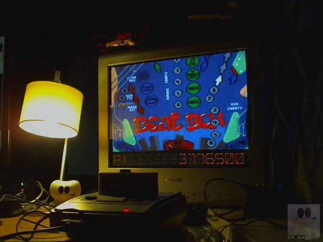 GTibel: Pinball Dreams: Beatbox (SNES/Super Famicom) 3,776,500 points on 2019-08-05 14:27:01